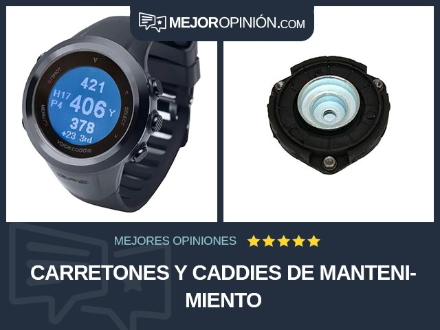 Carretones y caddies de mantenimiento