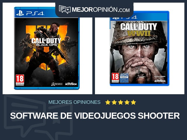 Software de videojuegos Shooter